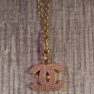 Vintage Chanel CC Keyring